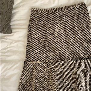 J crew Peplum Skirt Size 0